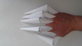 как сделать кусаригаму из бумаги