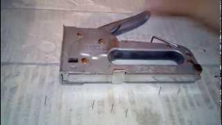 как починить степлер